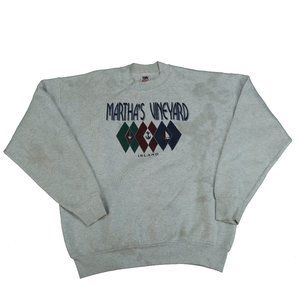 VTG Martha's Vineyard Island Sweatshirt